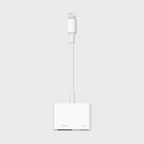 Apple Lightning To AV Adapter in Qatar