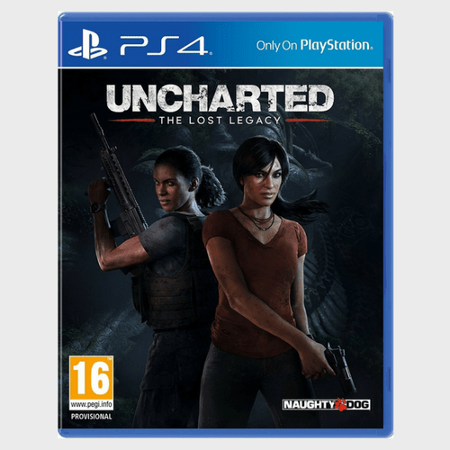 PS4 Uncharted The Lost Legacy Price in Qatar