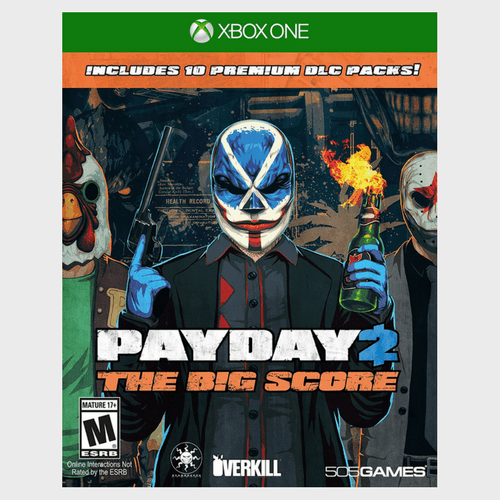 Xbox One PayDay 2 The Big Score price in Qatar