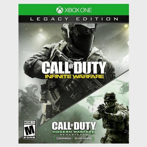 Xbox One Call Of Duty Infinite Warfare Legacy Edition price in Qatar