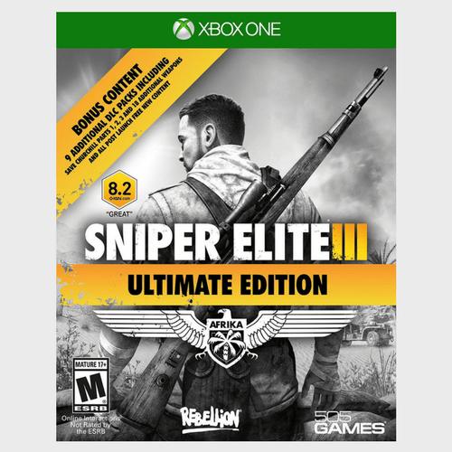 Xbox One Sniper Elite 3 Ultimate Edition price in Qatar