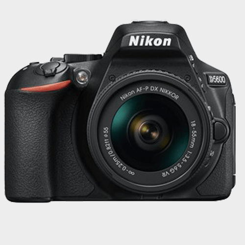 Nikon DSLR Camera D5600 AF-P 18-55mm Lens in Qatar