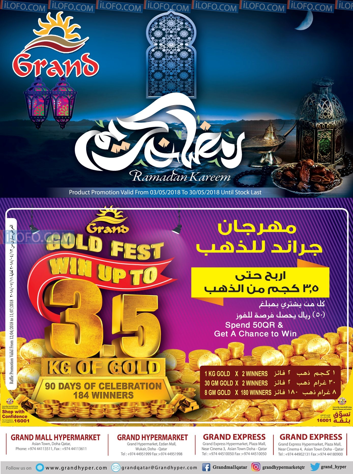 Grand Hypermarket Ramadan Kareem Offers