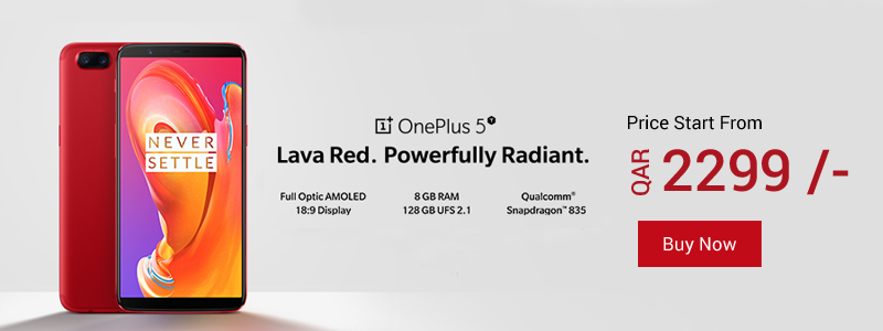 Oneplus 5t price in qatar alanees