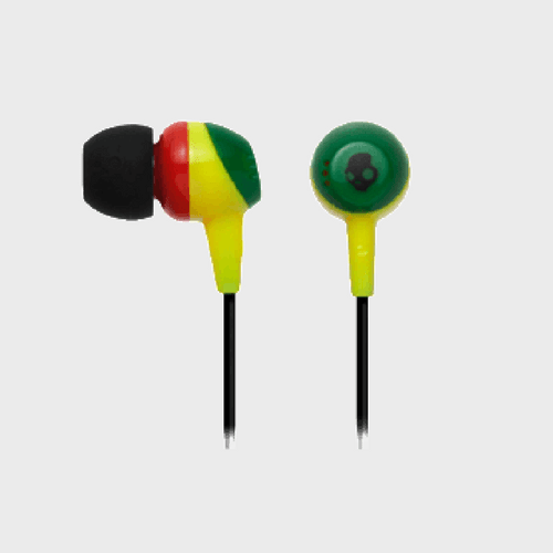 Skullcandy Earphone JIB Rasta Price in Qatar Lulu