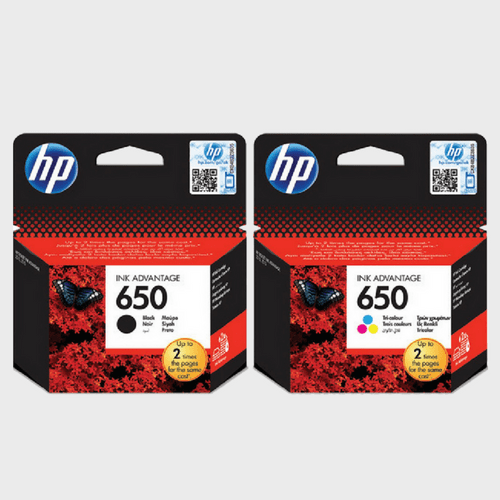 HP Ink Cartridge 650 Black & Tri-Color Combo Pack Price in Qatar