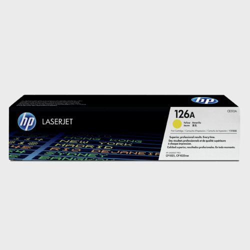 HP 126A Yellow LaserJet Toner Cartridge CE312A Price in Qatar