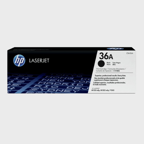 HP 36A Black LaserJet Toner Cartridge CB436A Price in Qatar