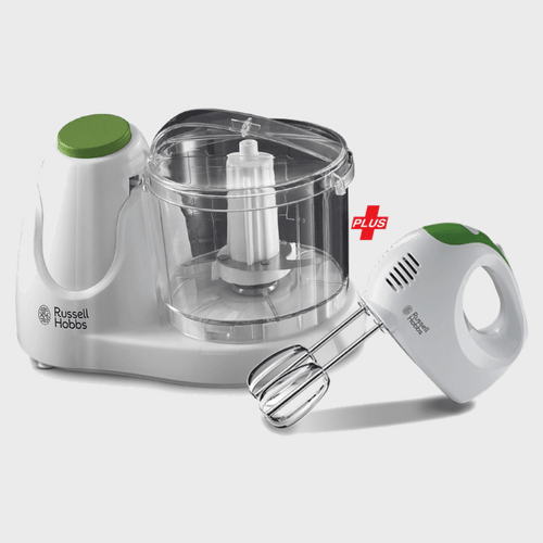 Russell Hobbs Mini Chopper 22220 + Hand Mixer 22230 price in Qatar