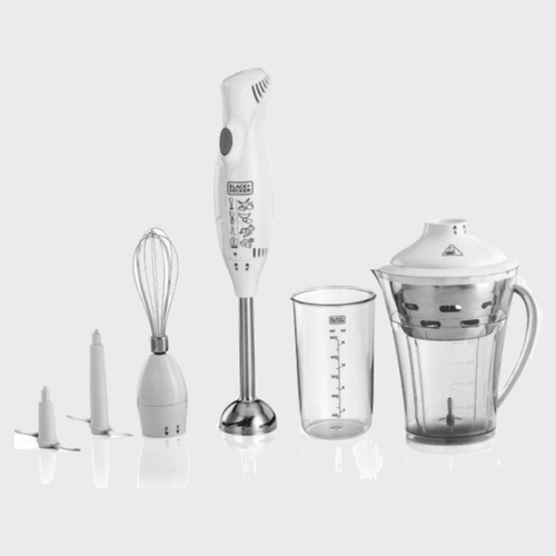 Black & Decker Stainless Steel Hand Blender With Chopper SB3240 Price in Qatar
