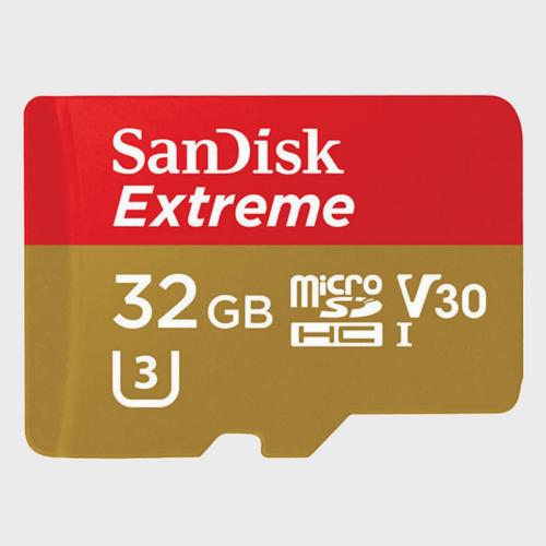 SanDisk Extreme Micro SD SDSQXAF 32GB Price in Qatar
