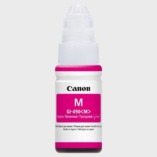CanonInk Bottle CatridgeGI-490 Magenta Price in Qatar