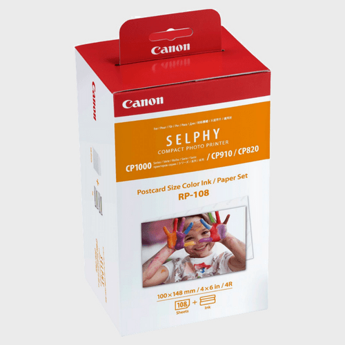 Canon RP-108 High-Capacity Color Ink/Paper Set Price in Qatar