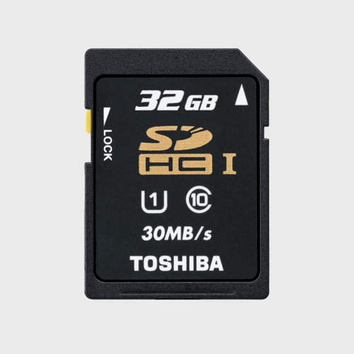 Toshiba SD Card C10 T032UHS1 32GB Best Price in Qatar and doha