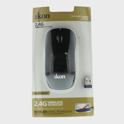 Ikon Wireless Mouse IK-MS906GT Price in Qatar and Doha