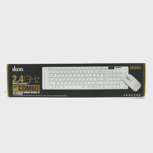 Ikon Wireless keyboard IKKB520GCM + Mouse Price in Qatar Lulu - Souq.Com