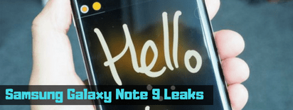 Samsung Galaxy Note 9 Leaks in Qatar and Doha