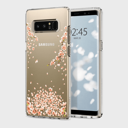 Spigen Samsung Galaxy Note 8 Case Liquid Crystal Blossom price in Qatar