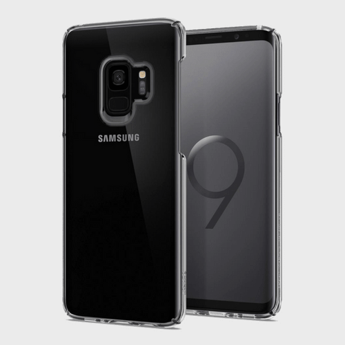 Spigen Samsung Galaxy S9 Case Thin Fit Crystal Clear price in Qatar