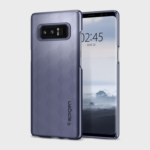 Spigen Samsung Galaxy Note 8 Thin Fit Orchid Gray price in Qatar