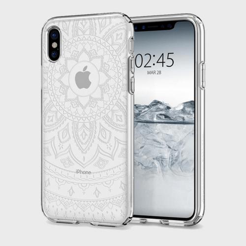 Spigen iPhone X Case Liquid Crystal Shine price in Qatar
