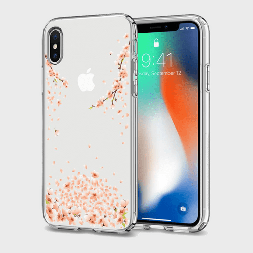 Spigen iPhone X Case Liquid Crystal Blossom price in Qatar