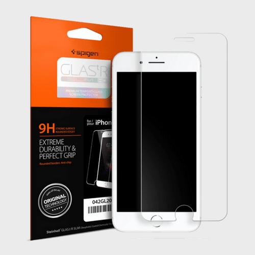 Spigen iPhone 8 Screen Protector GLAS.tR SLIM HD price in Qatar