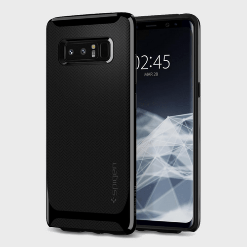 Spigen Samsung Galaxy Note 8 Case Neo Hybrid Shiny Black price in Qatar