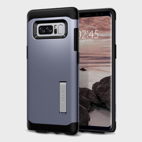 Spigen Samsung Galaxy Note 8 Case Slim Armor Orchid Gray price in Qatar