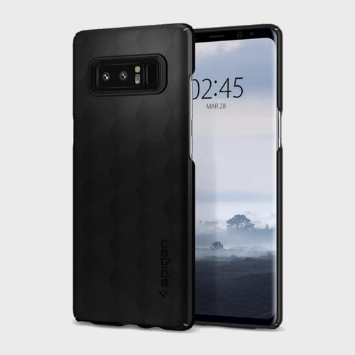 Spigen Samsung Galaxy Note 8 Thin Fit Matte Black price in Qatar