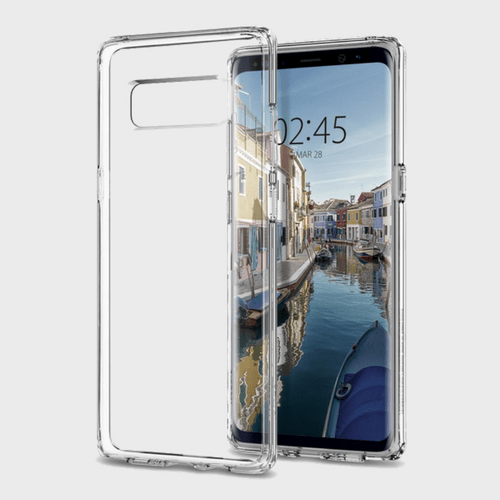 Spigen Samsung Galaxy Note 8 Case Ultra Hybrid Crystal Clear price in Qatar