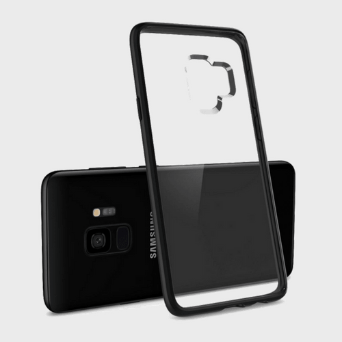 Spigen Samsung Galaxy S9 Case Ultra Hybrid Matte Black price in Qatar