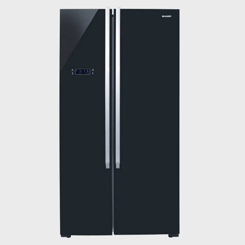 Sharp Side By Side Refrigerator SJX640BK3 640Ltr Price in Qatar Lulu