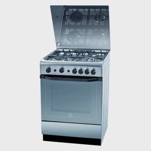 Indesit Cooking Range I-6TG1GXGHEX 60X60 4Burner price in Qatar