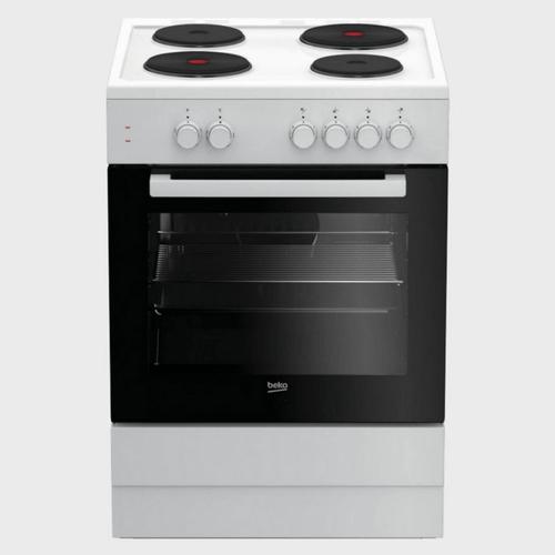 Beko Electric Cooking Range FSS66000GW 60x60 4Burner price in Qatar