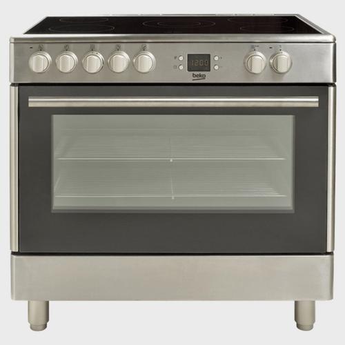 Beko Ceramic Cooking Range BHSC90X 90x60 price in Qatar