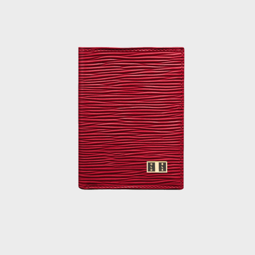 Goldblack Bifold Slim Wallet Unico Red price in Qatar