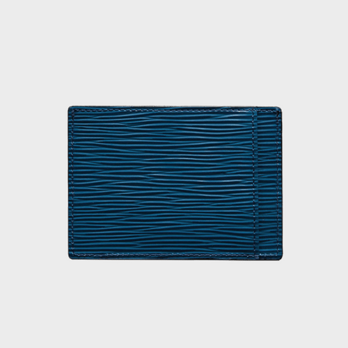 Goldblack Card Holder Bill Unico Blue price in Qatar