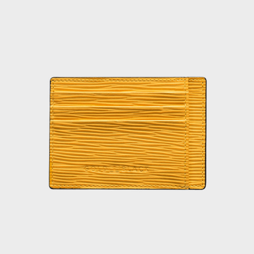 Goldblack Card Holder Bill Unico Yellow price in Qatar