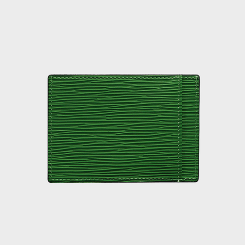 Goldblack Card Holder Bill Unico Green price in Qatar