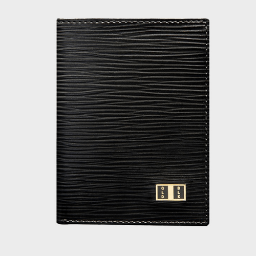 Goldblack Bifold Slim Wallet Unico Black price in Qatar