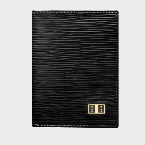 Goldblack Bifold Slim Wallet Unico Black price in Qatar