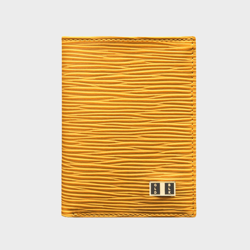 Goldblack Bifold Slim Wallet Unico Yellow price in Qatar