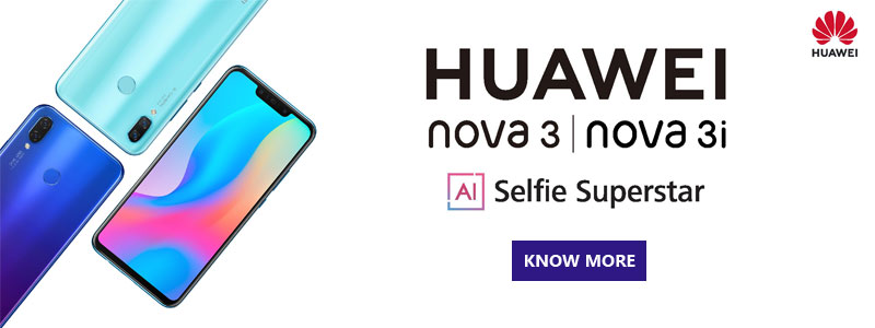 Huawei Nova 3 price in Qatar, Doha