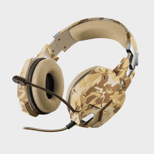 Trust Carus GXT 322D Carus Gaming Headset Desert Camo Price in Lulu