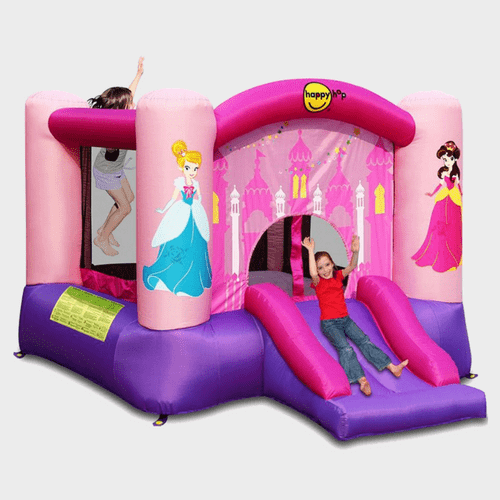 Happy Hop Princess Slide and Hoop Bouncer 9201P Price in Qatar