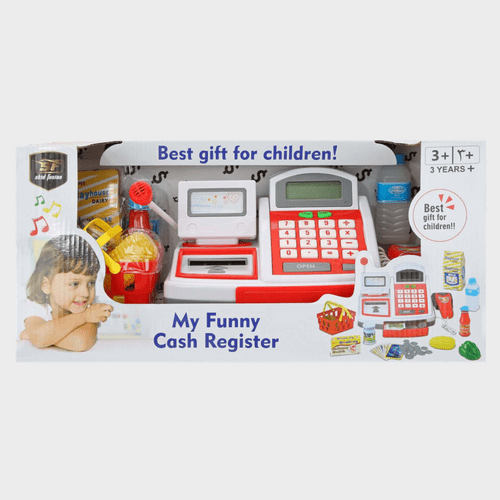 Skid Fusion Battery Operated Cash Register 1252490 Price in Qatar