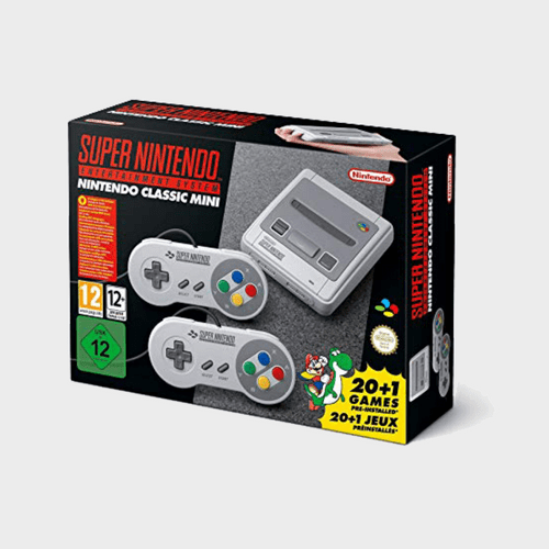 Nintendo Classic Mini: Super Nintendo Entertainment System Price in Qatar Lulu