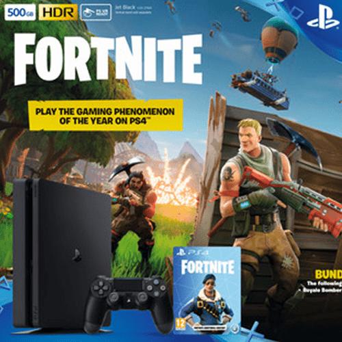PlayStation 4 Slim + Fortnite Game Bundle Price in Qatar Lulu