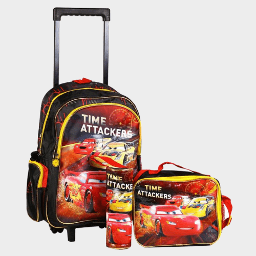 Cars Trolley Bag 3Pc Set 160590 Price in Qatar